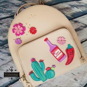 Kate spade cactus Tomi cactus backpack new horizon